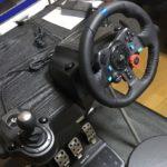 【Going out】Logicool G29 Driving Force(ハンコン)に本物のステアリング(ハンドル)取り付け方